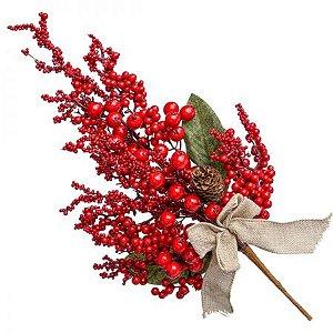 Pick Berry Vermelho com Laco - 60 cm