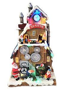 Vila Natalina Musical - Fabrica de Brinquedos
