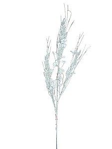 Galho Decorativo Branco 98cm