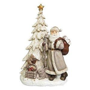 Papai Noel Tree com luz de LED