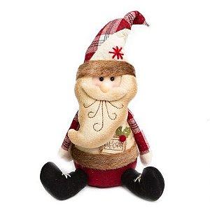 Papai Noel Sentado Candy welcome