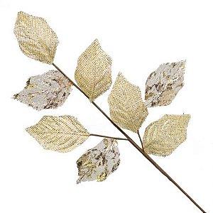 Galho Pick Decorativo Dourado