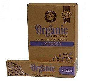 Incenso Organic Goodness Massala Lavanda