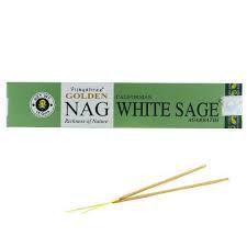 Incenso Massala Golden - Nag White Sage (Salvia Branca)
