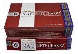 Incenso Massala Golden - Nag Seven Chacra