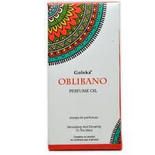 Oleo Aromatizador Essencial Indiano Oblibano - Goloka