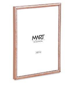 PORTA-RETRATO ROSE GOLD EM METAL - 15X20cm