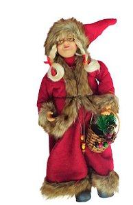 Mamae Noel em pe San Diego Vermelha