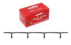 PISCA PISCA CORDAO 200 LEDS 8 FUNC VDE/CLA 10m  127V