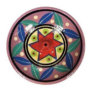 Incensario de Ceramica Color P