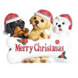 CACHORROS C/OSSO MERRY CHRISTMAS CLR (PET MANIA) C/1 UN