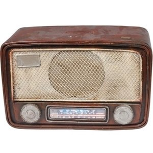 Miniatura de Radio Decorativo