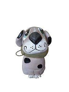 Cachorro Cinza Cimento Bento