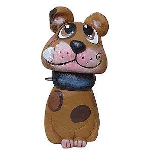 Cachorro Caramelo Bolas Cimento Bento