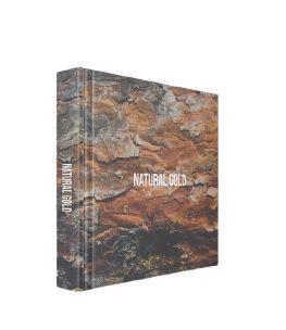 CAIXA LIVRO BOOK BOX NATURAL GOLD