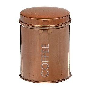 POTE PARA CAFE EM AÇO INOX COBRE