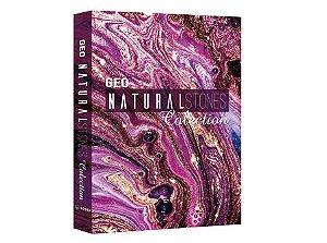 CAIXA LIVRO BOOK BOX GEO NATURAL STONES