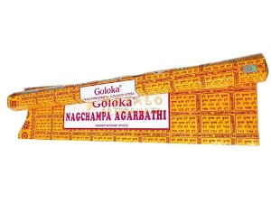 Incenso de Jardim Massala Goloka - Nagchampa Agarbathi