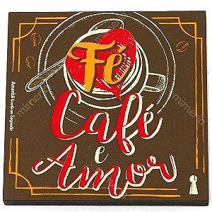 Ima Porta Copos Fe Cafe e Amor
