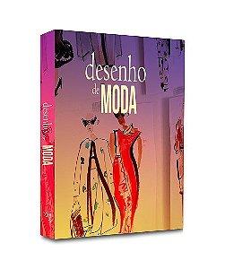 CAIXA LIVRO DECOR DESENHO DE MODA