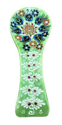 Descanso de Colher Turca Artesanal Decorativa
