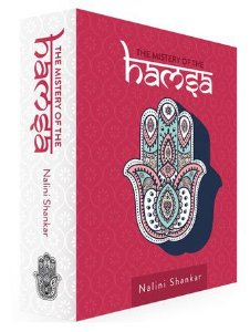 CAIXA LIVRO BOOK BOX THE MISTERY OF THE HAMSA
