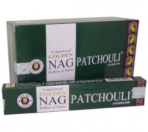Incenso Massala Golden - Nag Patchouli