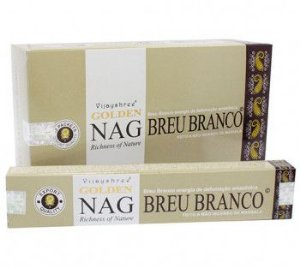 Incenso Massala Golden - Nag Breu Branco