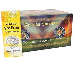 Ananda Incensos - Purificador do lar Sete Ervas