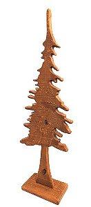 Arvore de Natal Decor de Madeira Rustica G