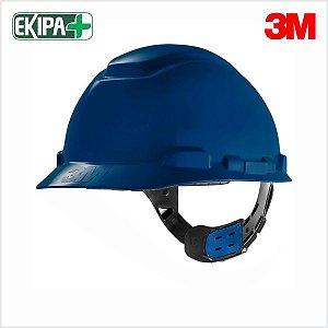 CAPACETE ABA FRONTAL COM JUGULAR COM AJUSTE FACIL H-700 3M CA 29638