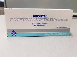 Brontel (Clembuterol) 20 comprimidos 20mg - LAB CATEDRAL