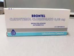 Brontel (Clembuterol) 20 comprimidos 20mg - LAB CATEDRAL