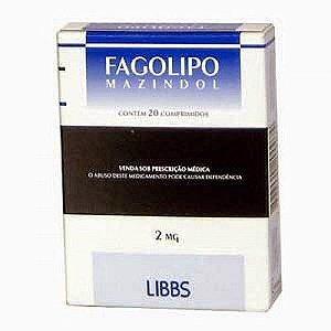 FAGOLIPO 2MG com 20 COMPRIMIDOS