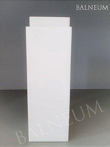 Porta escova quadrado fechado - resina
