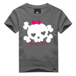 CAMISETA INFANTIL PRINCESS OF ROCK ART ROCK