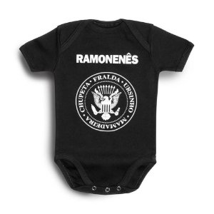 BODY BEBÊ RAMONES RAMONENÊS HONEY PEPPERS