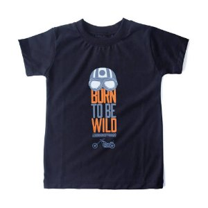 CAMISETA INFANTIL BORN TO BE WILD HONEY PEPPERS