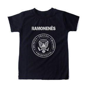 CAMISETA INFANTIL RAMONENÊS HONEY PEPPERS