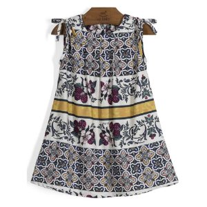 VESTIDO INFANTIL TILES FLOWERS UP BABY
