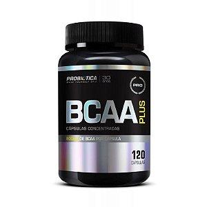 BCAA Plus 800 mg (120 cápsulas) - PROBIÓTICA