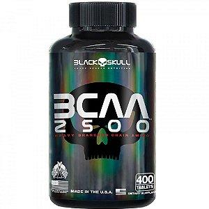 BCAA 2500 - 400 TAB - BLACK SKULL