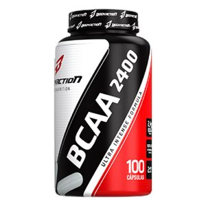 BCAA 2400  - 100 CÁPS - BODY ACTION
