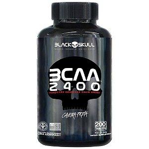 BCAA 2400 - 200 TABS - BLACK SKULL
