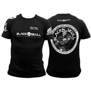 CAMISETA LINHA DO BOPE - DRY FIT - BLACK SKULL 	4945