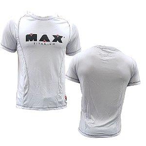 CAMISETA BRANCA MAX TITANIUM - MAX CLOTHING 4795