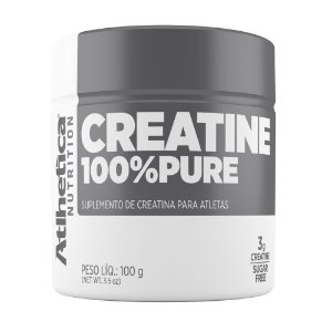 CREATINA 100% PURE - 100G - ATLHETICA