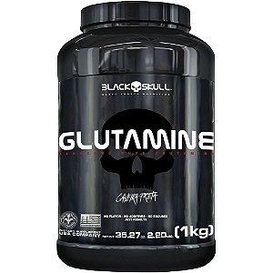 GLUTAMINA - 1KG - BLACK SKULL