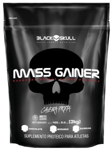MASS GAINER REFIL - 3KG - BLACK SKULL