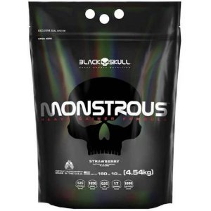 MONSTROUS - 4540GR - BLACK SKULL